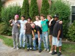 From left to right, Nate Pearson, myself, Daryl Berke, Wes Matelich, Howe Pearson, Mike Sandwick, Matt Peterson, and Joshua Reynolds